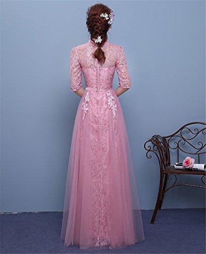 Mujer Imperio Morado Corte Drasawee Para Vestido IgxqqpA4