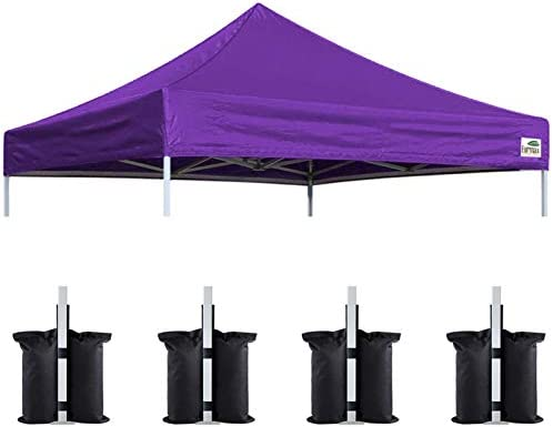 Eurmax New 10×10 Pop Up Canopy Replacement Canopy Tent Top Cover
