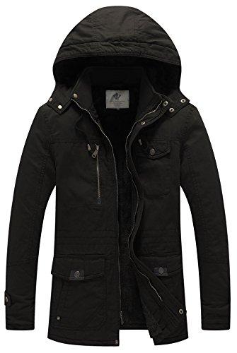 Black Winter Jacket - 3