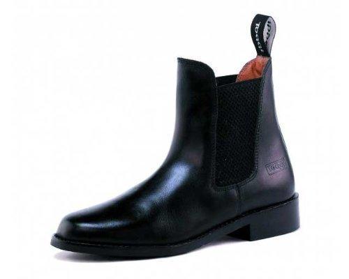 Toggi Ottawa Unisex Pull On Leather Jodhpur Boot In Black, Size: 10 by William Hunter Equestrian