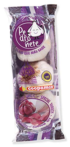 (Pedroñete Purple Garlic Flow Pack 3 Bulbs)