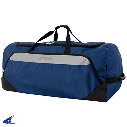 Champroスポーツジャンボall-purpose Bag on Wheels B00JW1SXZW Champro Sports Jumbo All-Purpose Bag On Wheels, Navy, 36