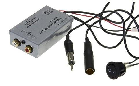 universal fm modulator stereo mp3 auto antenne kabel car radio cinch aux adapter schnelle. Black Bedroom Furniture Sets. Home Design Ideas