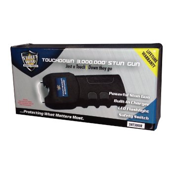 Touchdown-3000000-Stun-Gun-wHolster-LED-Light