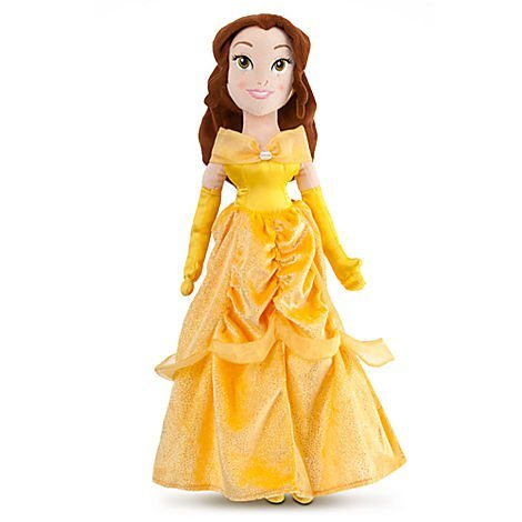 Disney Princess Beauty and the Beast 20 Inch Plush Doll Belle -