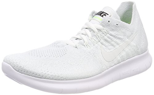 Flyknit Scarpe White Bianco Trail Running 2017 White Pure da Platinum Free Wmns Black Nike 100 Donna RN wxqCp4AA