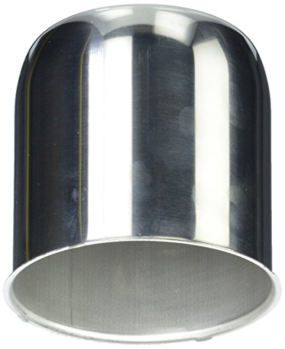 Topline C102S Polished Stainless Steel Center Cap (Wheel Caps Trailer Center)