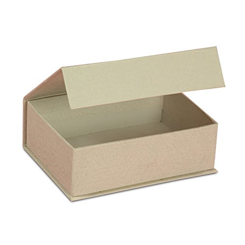 White Flip Top Boxes with Magnet 4 1/2