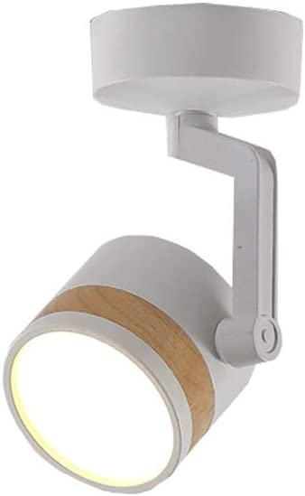 Barra De Focos LED, Rotativo Proyector De Pared 7 W/Luz, Luz De La ...