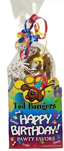 Tail Bangers All Natural Human Grade Dog Treats (8 Ounce Original Banger Happy Birthday Pack) Review