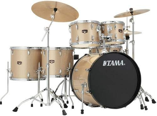 Tama Imperialstar 6-Piece Complete Drum Set with Meinl HCS Cymbals - FREE PROMO CYMBAL PACK - Champagne Mist -