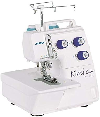 JUKI MCS-1800 Kirei Coverlockmaschine, para Costuras y dobladillos ...