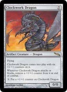 Clockwork Dragon (Magic the Gathering : Mirrodin #155 Rare)