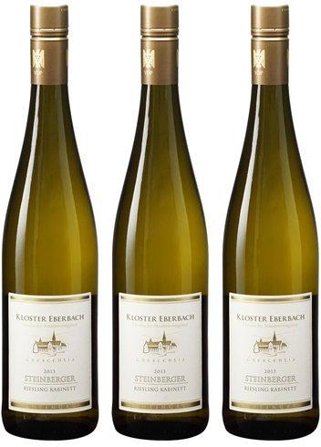 [3本セット] シュタインベルガー カビネット(Steinberger Kabinett) 2017 白ワイン ドイツ 750ml×3本  B071P22B55