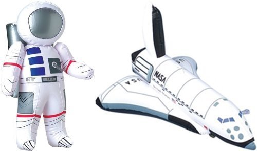 Inflatable Astronaut Space Shuttle Decorations