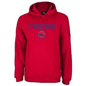 NBA Philadelphia 76ers Red Playbook Hoodie, Small