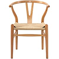Poly and Bark Wegner Wishbone Style Chair, Natural