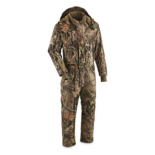 (Guide Gear Men's Guide Dry Waterproof Insulated Hunting Coveralls, Mossy Oak Break-Up Country, XL)