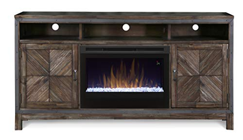 Cheap DIMPLEX Wyatt Media Console Electric Fireplace with Acrylic Ember Bed Black Friday & Cyber Monday 2019