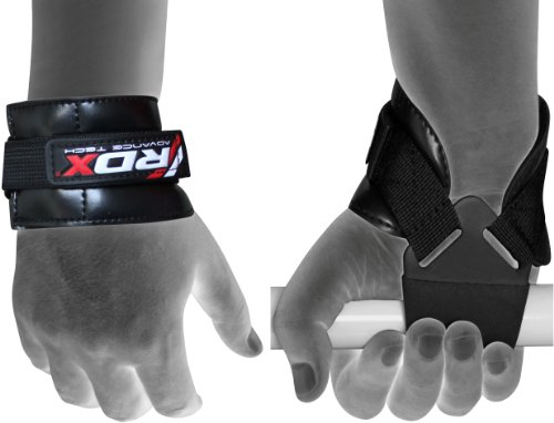 RDX Krafttraining Zughilfen Latzughilfe Gewichtheben Klimmzughaken Handgelenkstütze