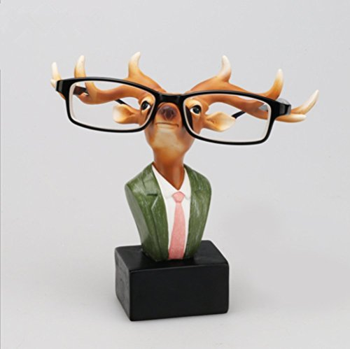 DY2DY Eyeglasses Holder Reading Spectacles Resin Display Stand