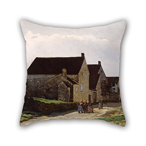 Loveloveu Pillow Cases Of Oil Painting Alfred Sisley - Women Going To The Woods,for Lover,monther,deck Chair,chair,son,study Room 16 X 16 Inches / 40 By 40 Cm(both (Bugs Bunny Female Adult Costume)
