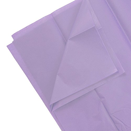 JAM PAPER Tissue Paper - Lilac Purple - 10 - Tissue Lilac