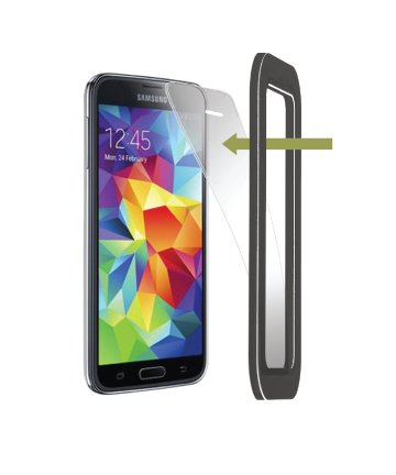 (Tru Protection Anti-Glare Screen Protector for Samsung Galaxy S5, Set of 2 )