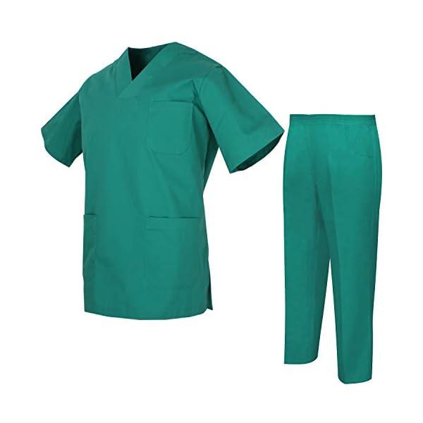 MISEMIYA Uniforms Unisex Scrub Set Conjunto de Trabajo para Hombre 5