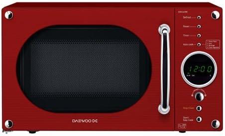 Daewoo KOR6N9RR - Microondas, 20 l, 800 W, color rojo: Amazon.es ...