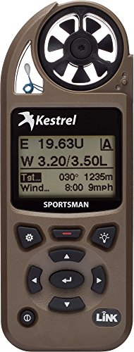 Kestrel Sportsman Weather Meter with Applied Ballistics, Bluetooth LiNK, and Vane Mount by Kestrel