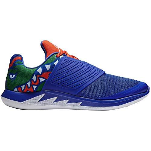 Nike Jordan Grind 2 Florida AT8010-418 Textile Synthetic Mens Trainers - Game Royal White Orange - 44.5