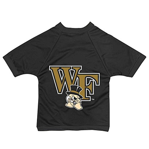 NCAA Wake Forest Demon Deacons Athletic Mesh Dog Jersey (Team Color, Large)