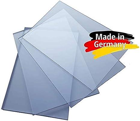 Makrolon//Polycarbonat Scheibe//Platte Zuschnitt 10-15 mm transparent//klar 10 mm, 700 x 600 mm