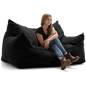 Amazon Com Big Joe Imperial Fufton In Comfort Suede Plus