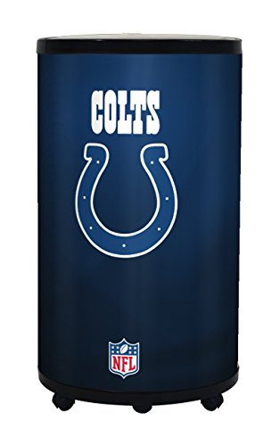 NFL Indianapolis Colts Ice Barrel Cooler, Black, 19'' by GLAROS