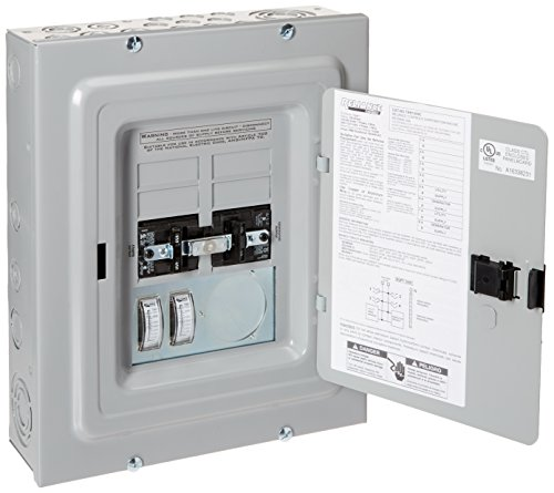 - Reliance Controls Corporation TRB1005C Transfer Panel with Meters, 50-Amp