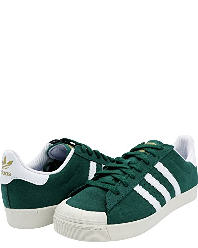 Adidas Mænds Halv Shell Vulc Annonce Sneaker Grøn / Hvid 9Y4k6KsA