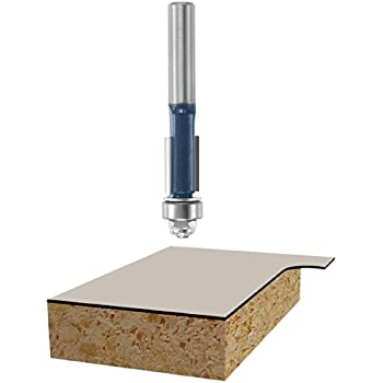 Freud 41-104 25-Degree 2-Flute Bevel Trim Router Bit with 1/4-Inch Shank Power Tools Router Bits