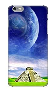 Graceyou Rugged Skin Case Cover For Iphone 6 - Eco-friendly Packaging(dark Fantasy)