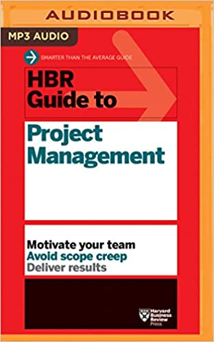 Amazon com: HBR Guide to Project Management (HBR Guide Series