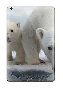 Awesome Polarbears Flip Case With Fashion Design For Ipad Mini/mini 2