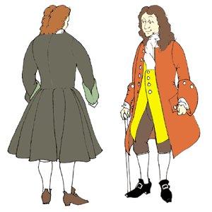 1740s Frock Coat / Pirate's Frock Coat Pattern by Reconstructing History   B004WLIUEQ