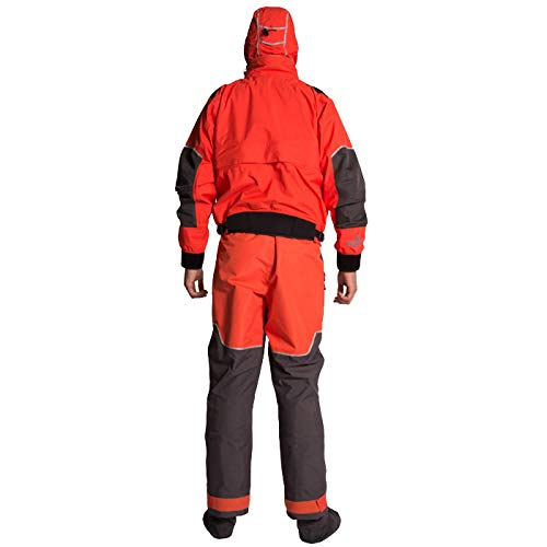 Level Six Triton Drysuit traje seco Kayak traje de kayak ...