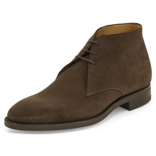 amp; James Chukka 40 Brown Stivali Uomo Edward Dark Marrone wxZf7qw5d
