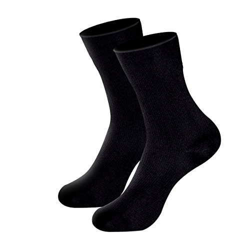 Aneforall Waterproof Socks [SGS Certified] Men Women Breathable Socks for Hiking Skiing Winter Outdoor Sports-XL (Spring Water Cold Creek)