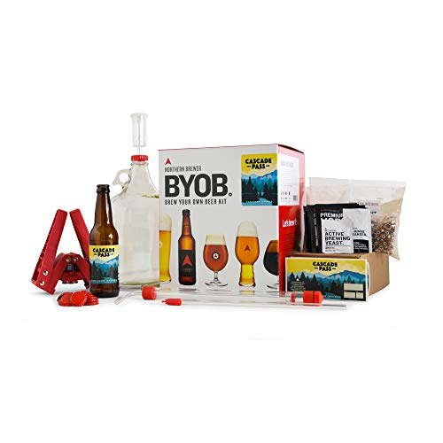 BYOB by Northern Brewer - Brew Your Own Beer Home Beer Making Kit (Cascade Pass Pale Ale) -