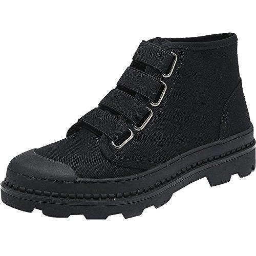 HL-PYL - Martin Stiefel hohe Stiefel Stiefel Männer Schuhe für Männer Stiefel Bangjun Schnee Stiefel., 38, Schwarz 7af1fc