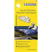 MH342 Hautes-Pyrenees Michelin 1:150 000