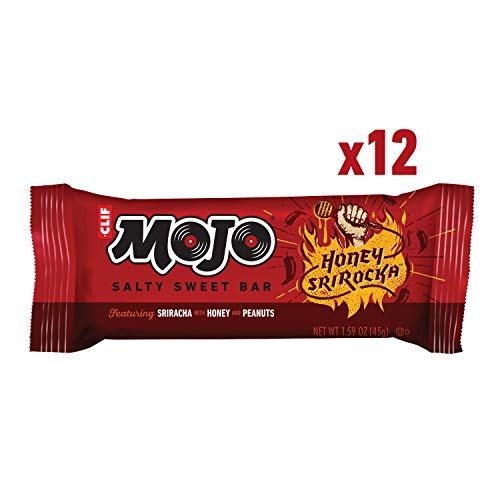 Clif Mojo Bar Salty Sweet Snack Honey Srirocka 12-Count Only $7.74